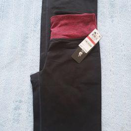 Calza Ideology Negro/Rojo