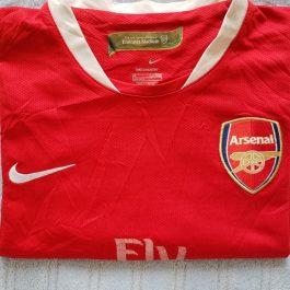 Polera Nike Roja Arsenal