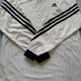 Polera Adidas Blanco Manga Larga