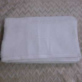 Toalla Blanco 100% Algodon 80*150 cm