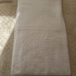 Toalla Blanco 100% Algodon 75*140 cm