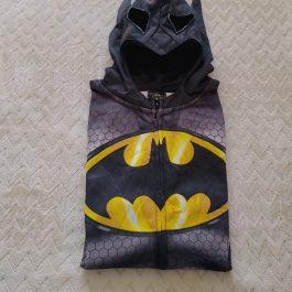 Poleron Negro Batman Talla M