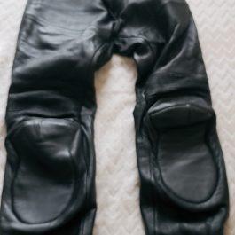 Pantalon Moto Cuero Talla 44
