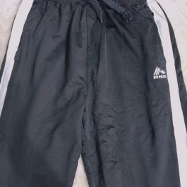 Pantalon Buzo Negro XL Juvenil