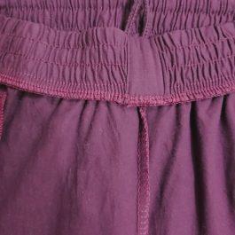 Pantalon Buzo Burdeo L Juvenil