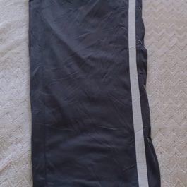 Pantalon Buzo Negro/Gris Talla S