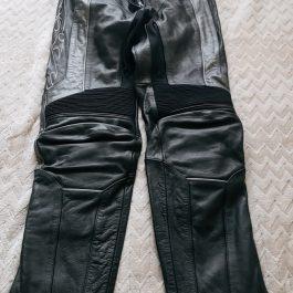 Pantalon Moto Cuero Talla 38