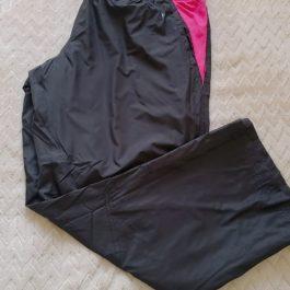 Pantalon Buzo Negro/Rosado XXL
