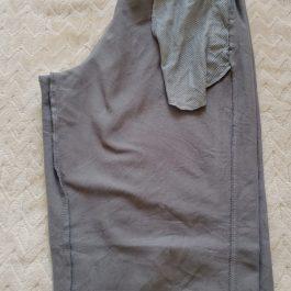 Pantalon Buzo Gris Talla L Niño