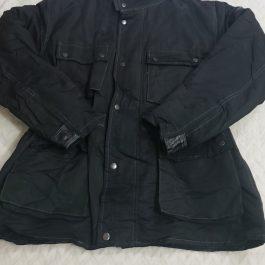 Casaca Moto Negro Talla XXL
